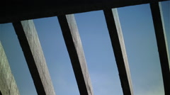Roof Slat Slider Stock Footage