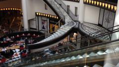 Friedrichstrasse Shopping Mall Stock Footage