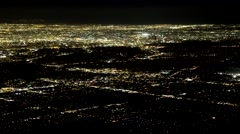 City Traffic Wide Timelapse Los Angeles Stock Footage