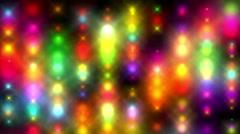 Background. Abstraction. Light progector rain. - stock footage
