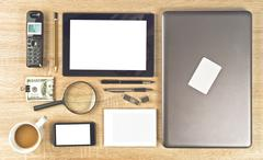 Web designer tools Stock Photos
