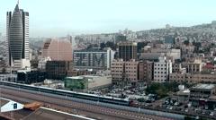 Western Asia Mediterranean Sea Israel Haifa 055 cityscape at Carmel mountainside Stock Footage