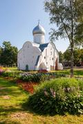 Church of st. vlasy in veliky novgorod, russia. was build in 1407 Stock Photos