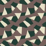 Abstract geometric seamless pattern. Vector - stock illustration