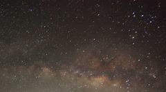 Time lapse of stars behind mountain Taboche, Cholatse Stock Footage