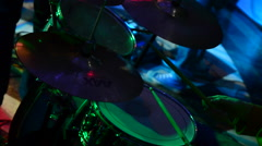 Drums. Percussion Stock Footage