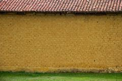 adobe wall - stock photo