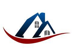 House roof symbol Stock Illustration