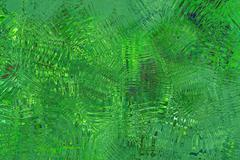 green abstract glassy background - stock illustration