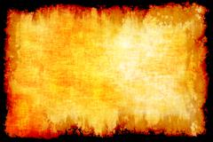 yellow abstract background lines - stock illustration