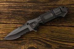 Folding pocket knife Stock Photos