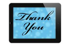 Stock Illustration of thank you for your online purchase