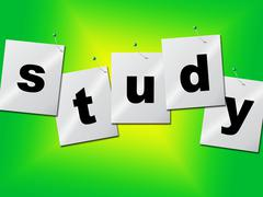 studying study representing training develop and learn - stock illustration