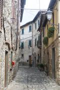 Montefioralle (chianti, tuscany) Stock Photos