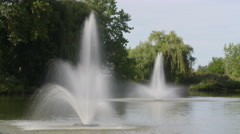 Water Fountains Stock Footage