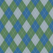 Stock Illustration of seamless argyle pattern. diamond shapes background.