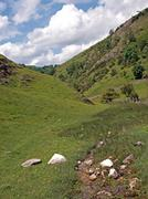 Dovedale in derbyshire. Stock Photos