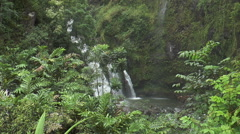 Upper Waikani Falls, Maui Hawaii - stock footage