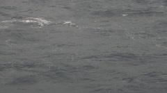 Turbulent sea surface Stock Footage