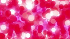 Red Seamless Looping Cytoplasm - 4K Resolution Ultra HD Stock Footage