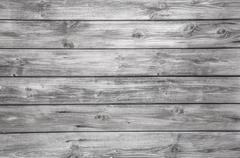 old grey wooden background - nobody and empty. - stock photo