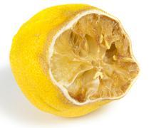 Rotten lemon Stock Photos