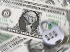 secure currency - stock photo