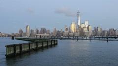 NYC Skyline World Trade Center  - stock footage