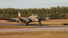 B17 Flying FortressMVI 506724.00 Stock Footage