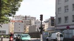 Gare du Nord cityscape Stock Footage