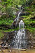 West Virginia's Cathedral falls Stock Photos