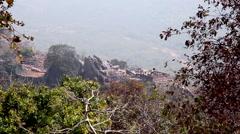 View of Vulture's Peak Stock Footage
