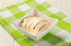 creamy condiment - stock photo