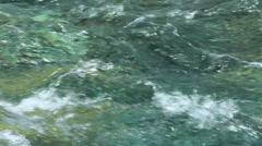 Mountain water stream Stock Footage