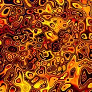 Abstract creative golden chaos fluid background Stock Illustration
