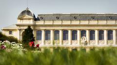 Stock Photo of Elegant park building in Paris