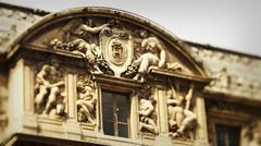Paris palace - stock photo