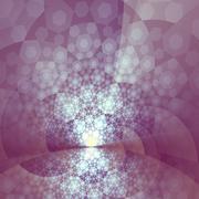 Stock Illustration of abstract artistic bright purple glare fractal