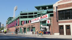 Fenway Park Gate B Stock Footage