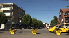 Nynashamn in sweden  -cityscape Stock Footage