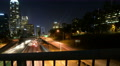 4K Los Angeles Hyperlapse 02 Freeway Bridge Motion Timelapse Night California 4k or 4k+ Resolution