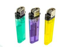 Colorful lighter Stock Photos