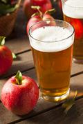 hard apple cider ale - stock photo