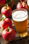 Hard apple cider ale Stock Photos
