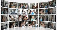 Stock Video Footage of Not Moving Montage Presentation of a Fitness Centre