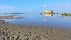 Timelapse - Ria Formosa Seascape - Fuseta A Stock Footage