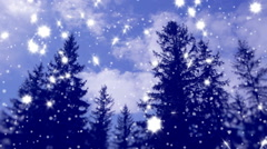 New Year,christmas,3d winter background,time-lapse Stock Footage