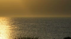 Dusk at the Baltic Sea Stock Footage