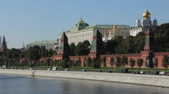 Kind to the Moscow Kremlin, Grand Kremlin Palace Stock Footage