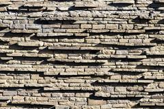 wall stones pattern - stock photo